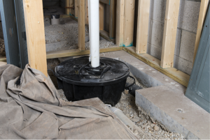 Radon and sump pumps